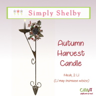 Simply Shelby Autumn Harvest Candle