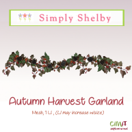 Simply Shelby Autumn Harvest Garland