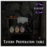 Tavern Prep Table 3li