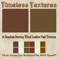 TT 12 Seamless Steering Wheel Leather Posh Timeless Textures