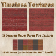 TT 12 Seamless Under Duress Fire Timeless Textures