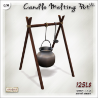 AD Candle Melting Pot V2