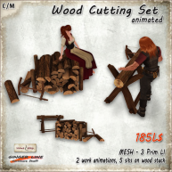 AD_Wood Cutting Set Animated