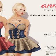 [AF] Evangeline Corset Mini Dress