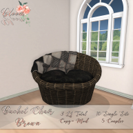 Bloom! - Bucket Chair BrownAD