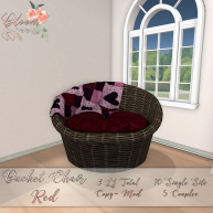 Bloom! - Bucket Chair RedAD