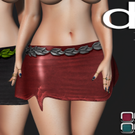 [DR] Mini Skirt 84 HUD 10 COLORS __MESH__