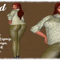 Dryad Sweater & Pants by COVETD!