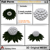 FC- Full Perm Mesh Christmas Decoration s-2 bp