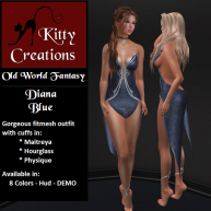 PIC Diana - Blue - Kitty Creations