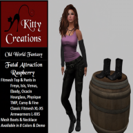 PIC Fatal Attraction - Raspberry - Kitty Creations