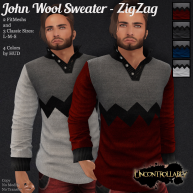 [PIC] John Wool Sweater - ZigZag