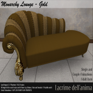 (PIC) Monarchy Lounge - Gold