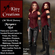 PIC Morgance - Red - Kitty Creations