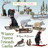 Simply Shelby Winter Forest Friends Gacha
