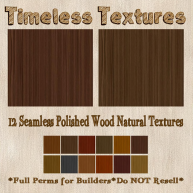 TT 12 Seamless Polished Wood Natural Timeless Textures