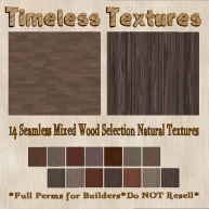 TT 14 Seamless Mixed Wood Selection Natural Timeless Textures