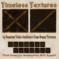 TT 14 Seamless Tudor Ambience Cross Beams Timeless Textures