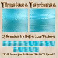 TT 15 Seamless Icy Reflections Timeless Textures
