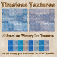 TT 16 Seamless Wintery Ice Timeless Textures