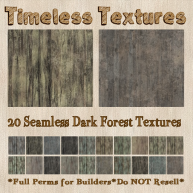 TT 20 Seamless Dark Forest Timeless Textures