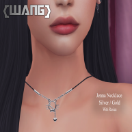WANG JENNA NECKLACE GOLD and SILVER