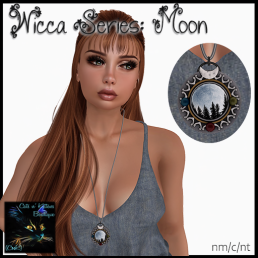 [AD - CnK] Wicca Series - Moon Necklace