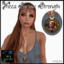 [AD - CnK] Wicca Series - StrengthNecklace