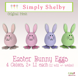 Simply Shelby Easter Bunny Eggs Fat Pack