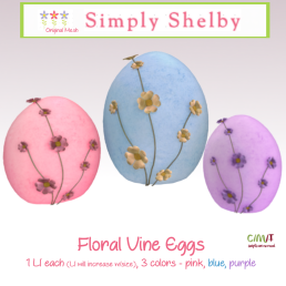 Simply Shelby Floral Vine Eggs