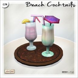 AD Beach Cocktails