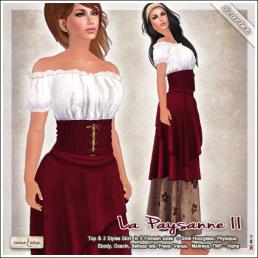 AD paysanne II Scarlet