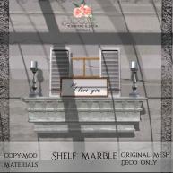 Bloom! - Shelf MarbleAD