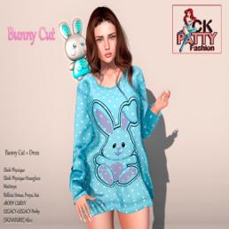 __ C.K Bunny Cut Blue __GIFT