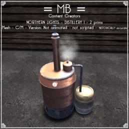 distillery 1 w