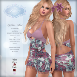 _Lurve_ Aloha Love Fitmesh Dress - Blush - Vendor Pic