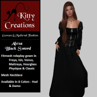 PIC Alexa - Black Sword - Kitty Creations