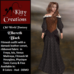 PIC Elbereth - Black - Kitty Creations