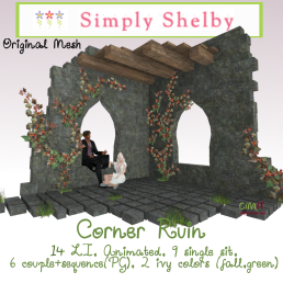 Simply Shelby Corner Ruin