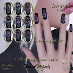 .__ StunnerOriginals __. Nails Applier Skull
