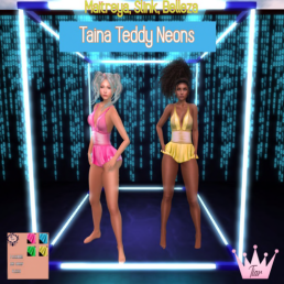 Tania teddys neon