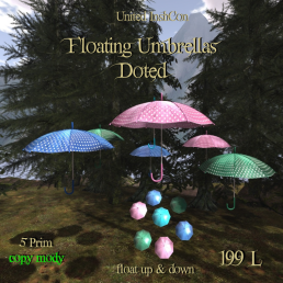 UI Floating Umbrellas Doted