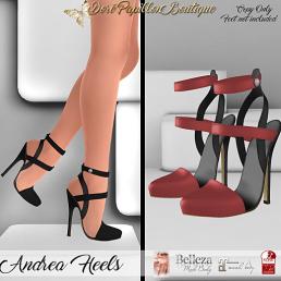 35L DPB Andrea Heels - Rusty