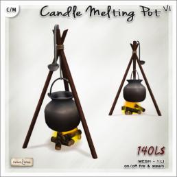 AD Candle Melting Pot V1