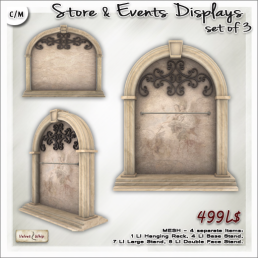 AD Store and Events Displays Set