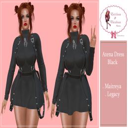 Dress Atena Black