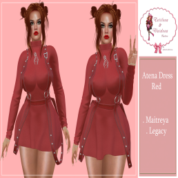 Dress Atena Red