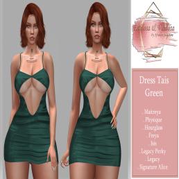 Estilosa & Vaidosa - Dress Tais Green