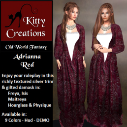 PIC Adrianna - Red - Kitty Creations