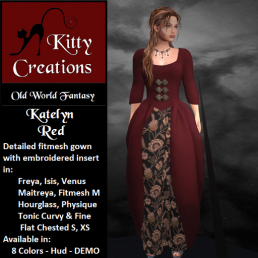 PIC Katelyn - Red - Kitty Creations